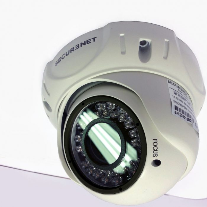 Securenet PRO Super HAD CCD II 700TVL Sony Effio-E Varifocal Dome 2.8-12mm Day & Night CCTV Camera-0