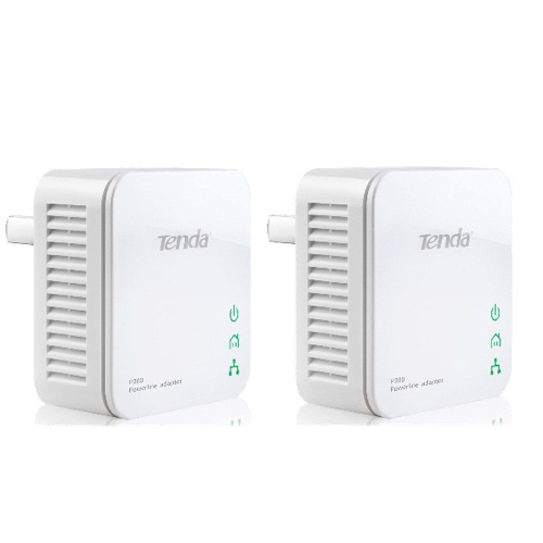 Tenda 200Mbps Mini Powerline Homeplug Network Adapter-0