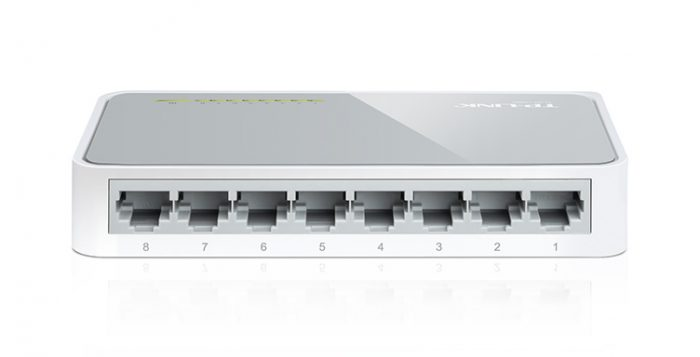 TP-Link 8-Port Wired Ethernet Network Switch-0