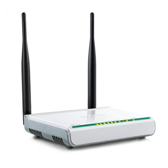 Tenda 300Mbps Wireless N ADSL2+ Modem Router-0