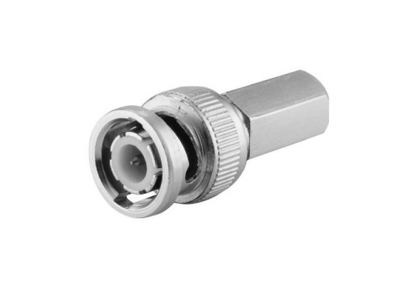 BNC Male Twist-on Connector for RG59 Cable (Single)-0