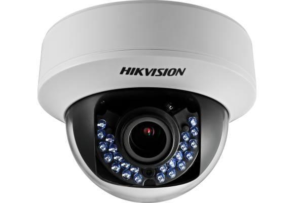 Hikvision Indoor 1.3MP Turbo HD Varifocal 2.8-12mm CCTV Dome Camera DS-2CE56C5T-AVFIR-0