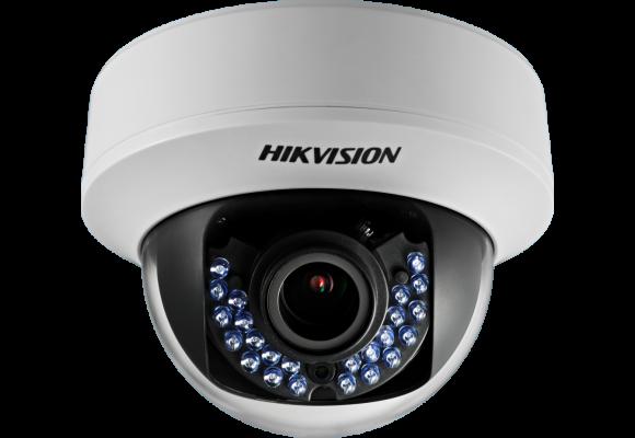 Hikvision Indoor 1.3MP Turbo HD Varifocal 2.8-12mm CCTV Dome Camera DS-2CE56C5T-AVFIR-0
