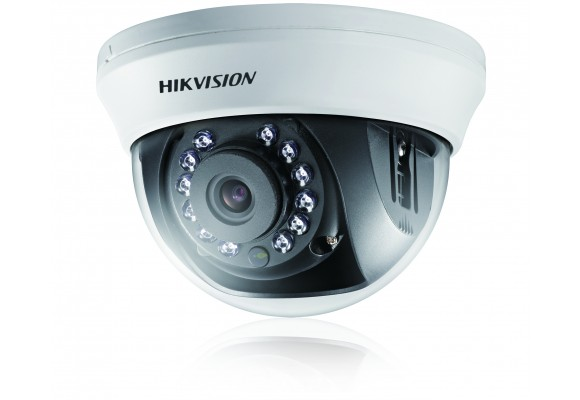Hikvision Indoor 2MP Turbo HD 2.8mm/3.6mm CCTV Dome Camera DS-2CE56D1T-IRMM-0