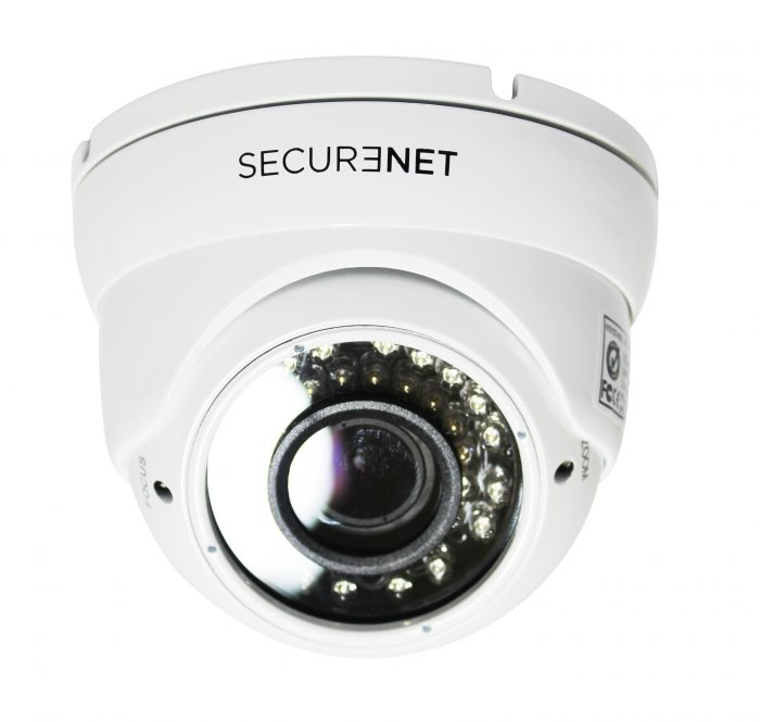 Securenet HD-D220W 1080P AHD Dome 2.8-12mm Varifocal Lens 40m IR Dome CCTV Camera-0