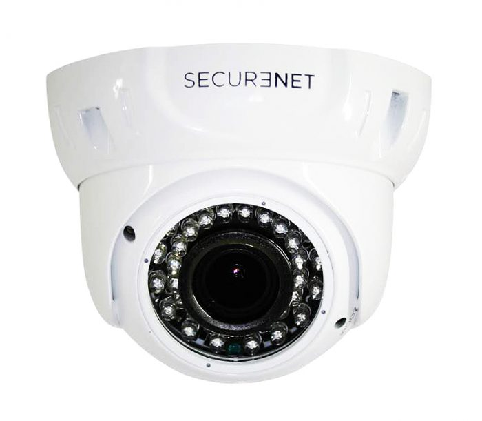 Securenet 2MP IP Varifocal 2.8-12mm CCTV Dome Camera IP-C320-0