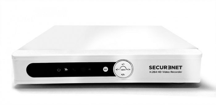 Securenet Qube HD DVR-HD4208 8CH 960H Analog CCTV DVR-798