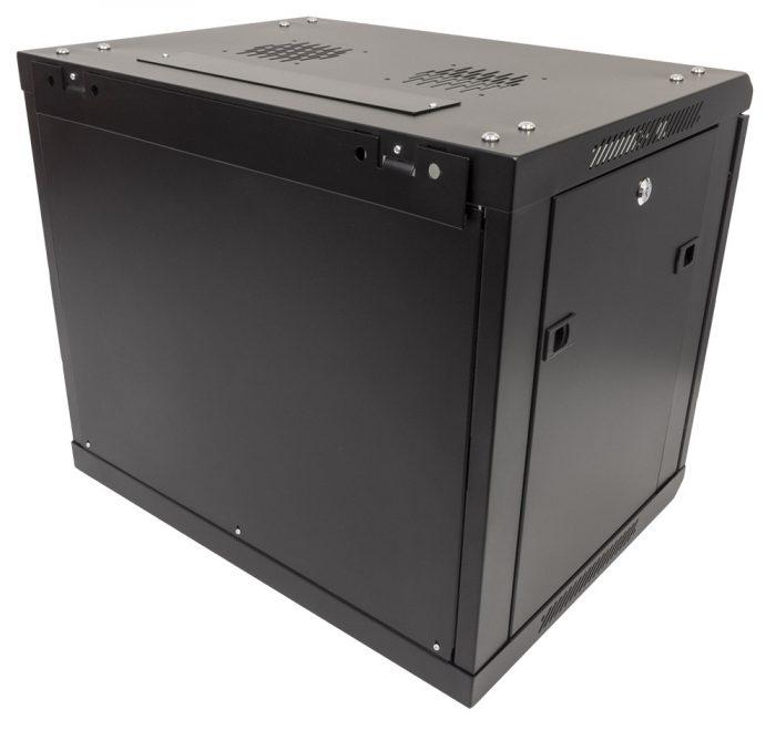 Black 9U Wall Mounted 600*450*500mm Data Network Cabinet Rack -939
