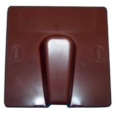 Brown Plastic Blast Cover-0