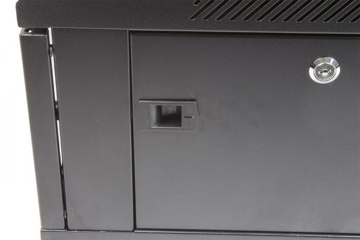 "Black 4U 19"" Wall Mounted 600*450mm Data Network Cabinet Rack -916"