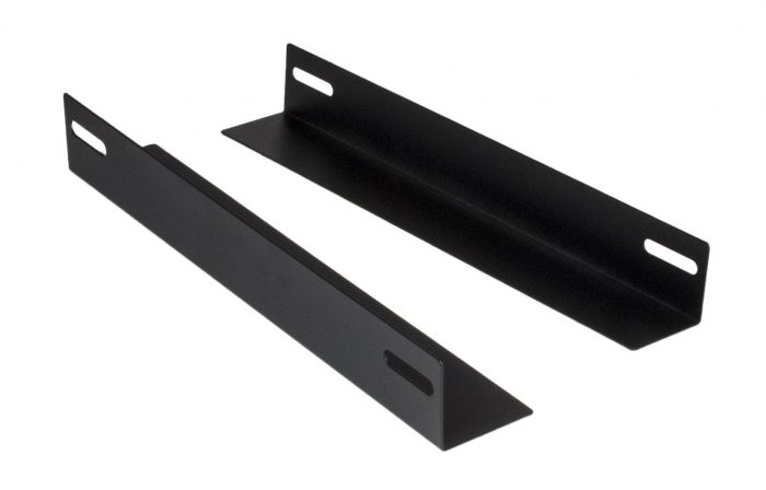 Rack Mount L Shape Shelf Equipment Support Bracket 270mm (for 450mm Cabinets) -0