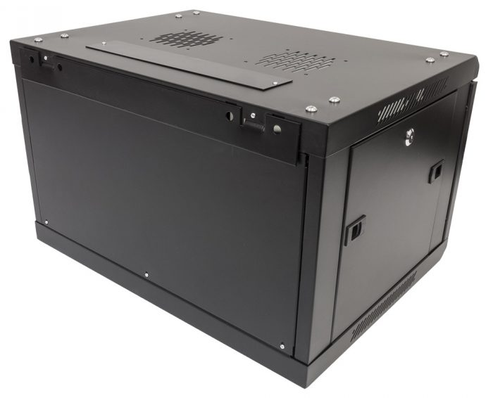 "Black 4U 19"" Wall Mounted 600*450mm Data Network Cabinet Rack -922"