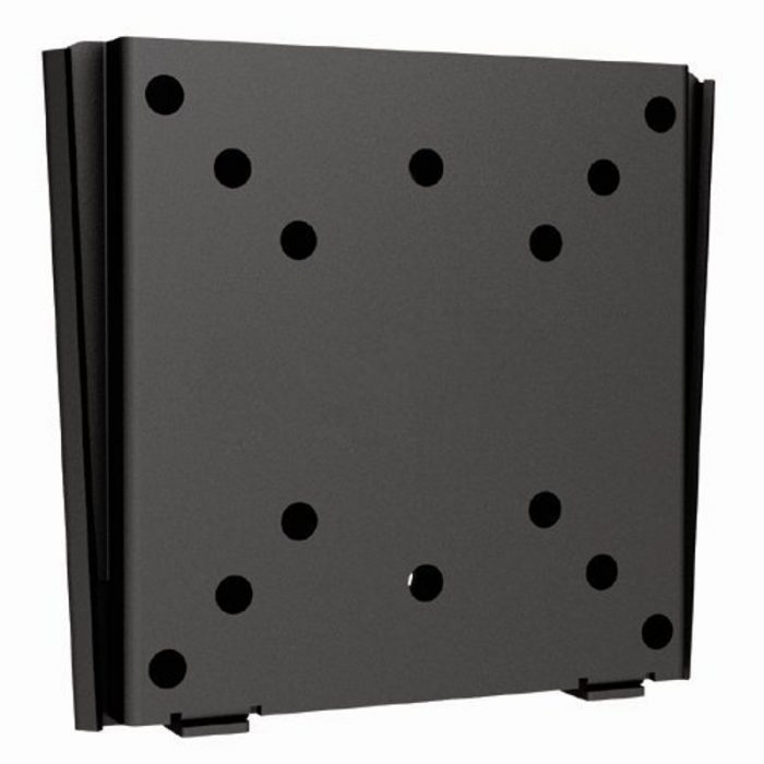 DRX Super Slim Fixed Flat Panel LED LCD 13-27'' TV Wall Mount Bracket-0