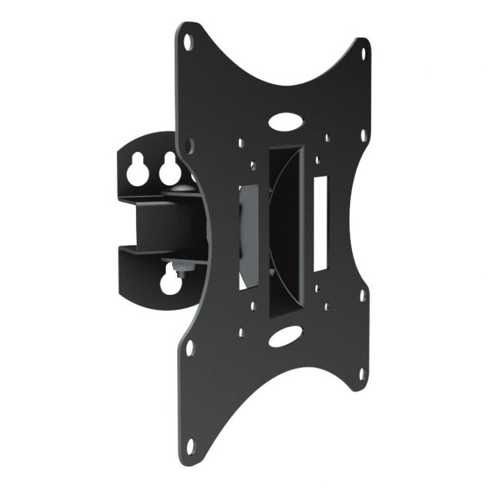 DRX 23''-42'' Pivoting Flat TV Wall Mount Bracket with Tilt & Swivel-0
