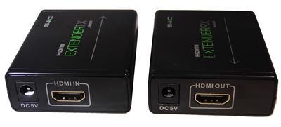 SAC 40m HDMI Extender via Single CAT5e/CAT6 Cable-1139