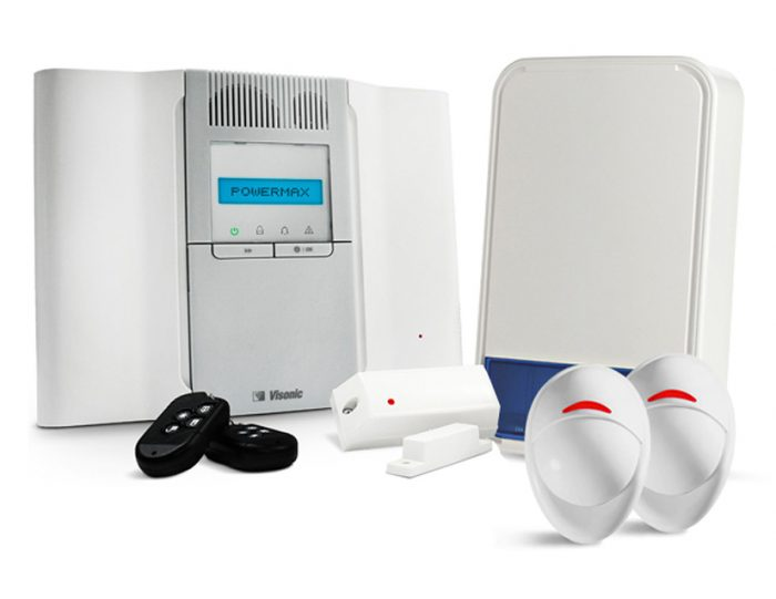 Visonic PowerMax Complete Home Wireless Intruder Burglar Alarm Security Kit-0