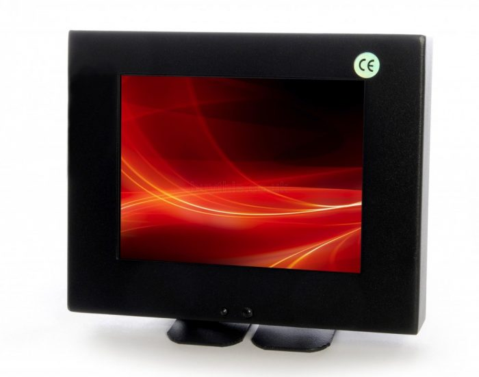 "Vigilant Vision Wall Mountable 8"" LED BNC CCTV Monitor DSM8WGF-0"