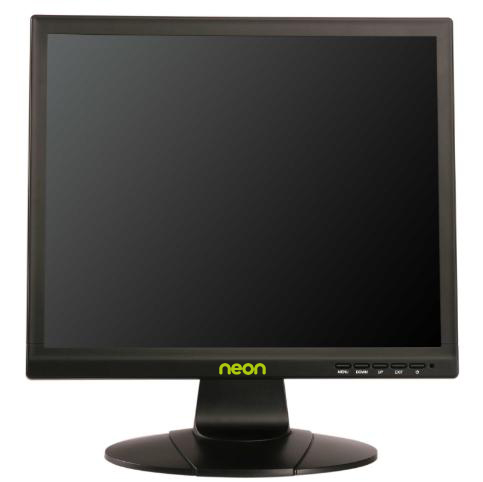 "Neon 19"" LED BNC/VGA/HDMI/S-Video & Audio I/O CCTV Monitor-0"
