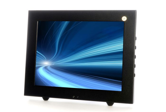 "Vigilant Vision DSM10.4LED-WGF 10.4"" Glass Front LED Monitor with with BNC & VGA-0"