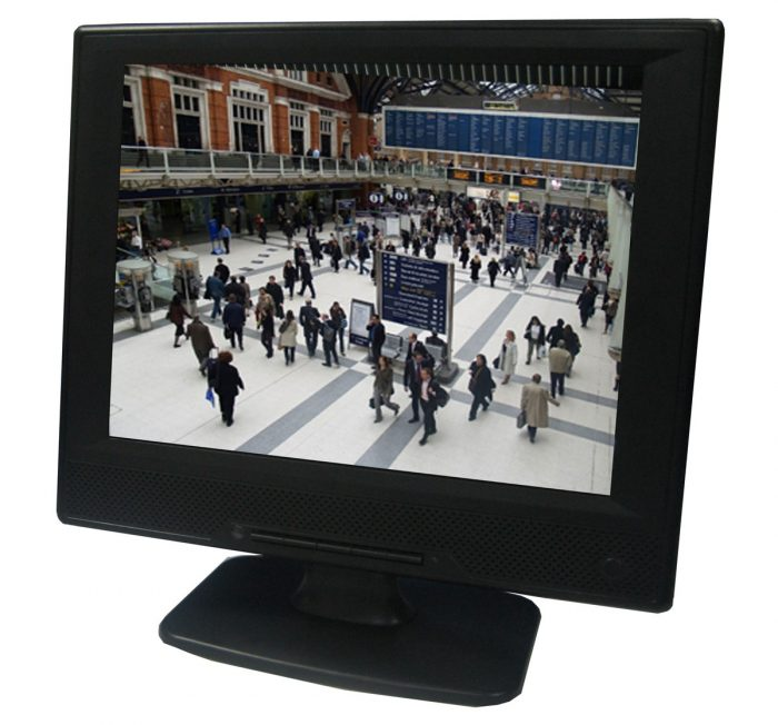"Vigilant Vision DSH10.4LED 10.4"" Plastic Cased LED Monitor with BNC, HDMI & VGA-0"