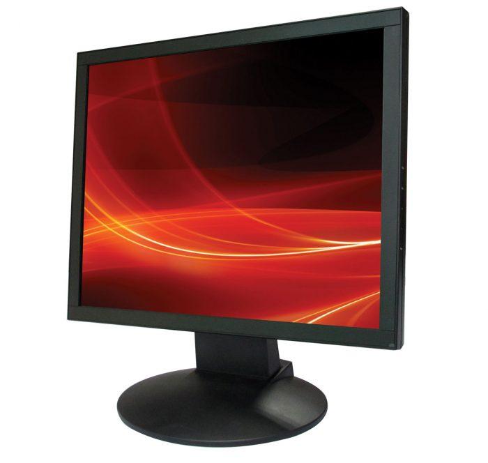"""Vigilant Vision AS17 LED-2 17"""" LED CCTV Monitor with BNC, RCA, HDMI & VGA-0"""