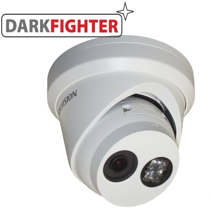 Hikvision 3MP PoE IP H265 Ultra Low-Light 2.8mm/4mm CCTV EXIR Turret Camera DS-2CD2335FWD-I-0