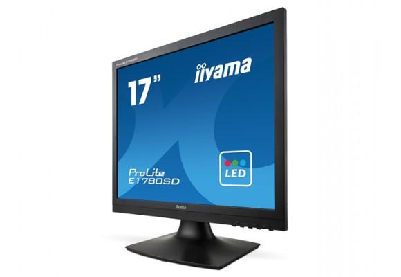 """Iiyama ProLite E1780SD-B1 17"""" DVI VGA Monitor-0"""