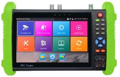 5-in-1 Analog, 4MP AHD, 5MP HD-TVI (Turbo HD), 4MP HD-CVI & 4K IP (Onvif) CCTV Test Monitor-0