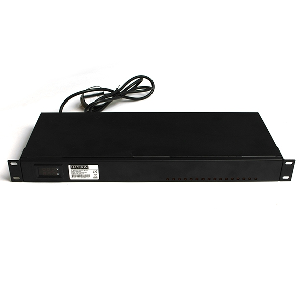 Haydon 16-Way 12V DC 1U Rack Mount Power Supply-0