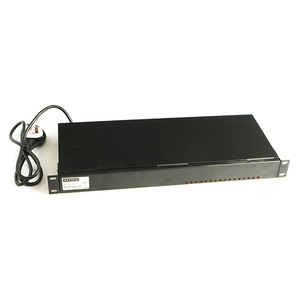 Haydon 16-Way 24V AC 2U Rack Mount Power Supply-0