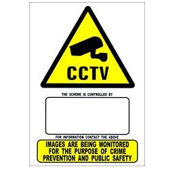 Haydon A4 CCTV Warning Sign-0