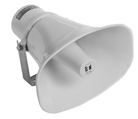 TOA SC-610M 30-Watt IP65 Paging Horn Speaker-0
