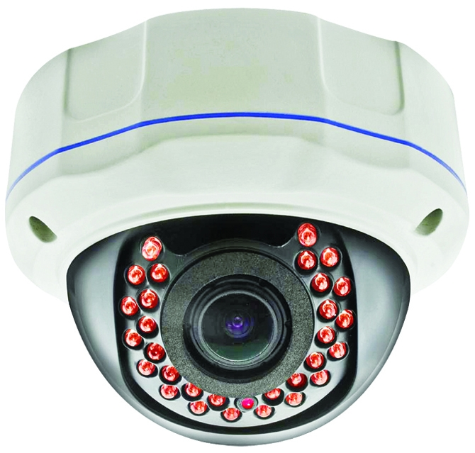 EXELL 1080P 4 IN 1 VARIFOCAL VANDAL DOME, 2.8-12MM, 30M IR