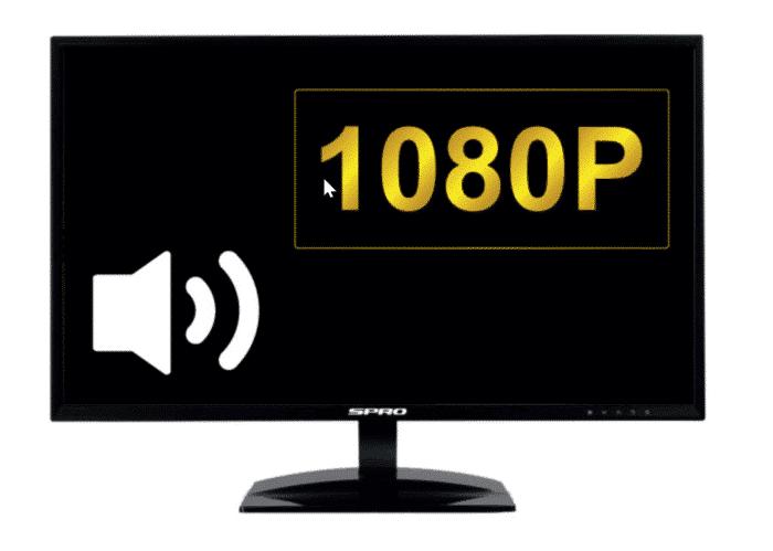 "SPRO HDMI MONITOR 21.5"""